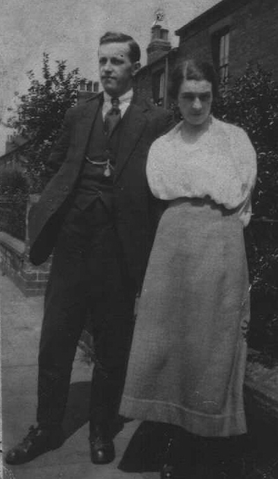 Edward Goldthorpe and Louisa Goldthorpe