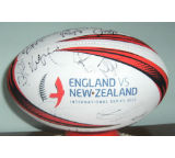 England and New Zealand Autographs